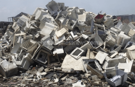 As Ghana law lags, new report says only a third of Europe's e-waste properly disposed