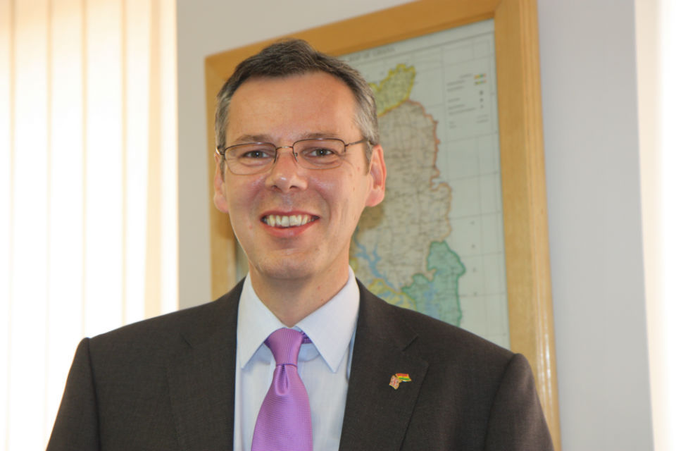 Peter Jones - British High Commissioner to Ghana