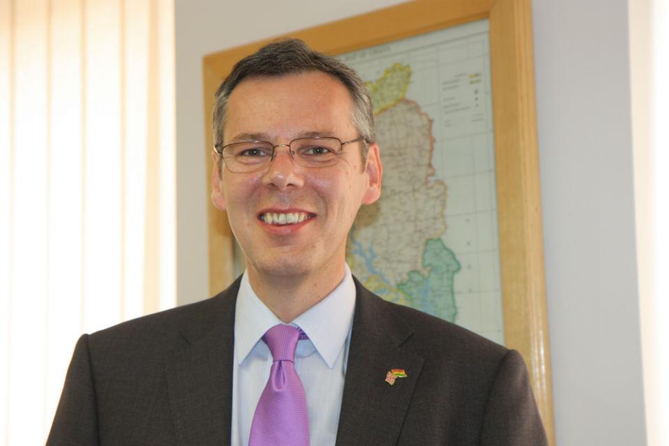 Peter Jones - British High Commissioner to Ghana