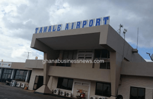 President cuts sod for Tamale Airport project