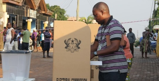 Candidates in District Level Elections seen to be using party colours clandestinely