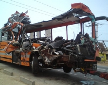 Number of road carnage in Ghana hits 2,890 in three months