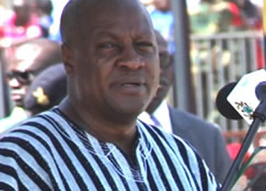 President Mahama condemns politicisation of national issues