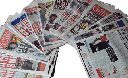 The newspaper industry in Ghana is dying