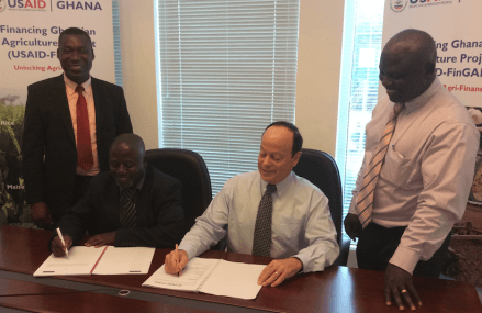 Ghana's agriculture sector gets $150,000 insurance grant from USAID