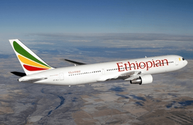 Ethiopian Airlines begins first direct flight from Africa to Japan