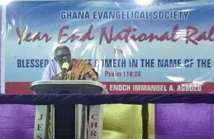 God has rescued Ghana – Rev. Agbozo