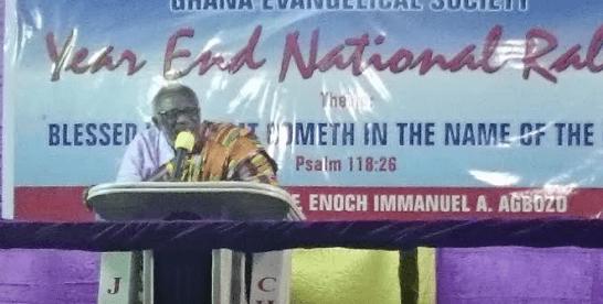God has rescued Ghana – Rev. Agbozo