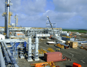 Gas infrastructure at Atuabo