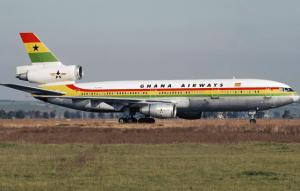 Ghana Airways plane