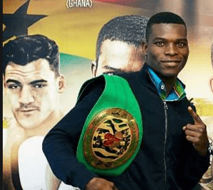 Commey moves up in WBC rankings
