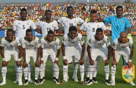Ghana drops two places on FIFA ranking