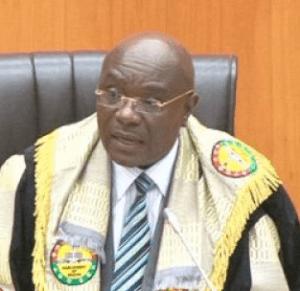 Doe Adjaho - Speaker of Parliament