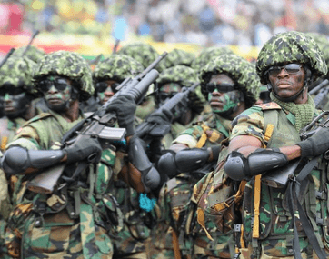 Ghana sends 205 troops on ECOMIG mission to remove Jammeh