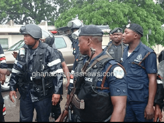 Ghana police told to stop parading suspects before media