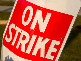 Staff of Judicial Service in Tarkwa join strike action