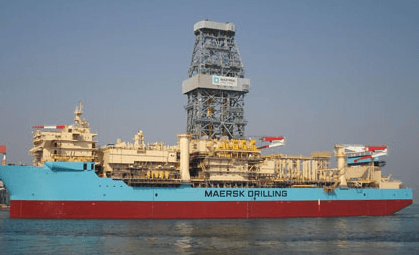 Maersk Drilling secures $545m Ghana gas contract from Eni