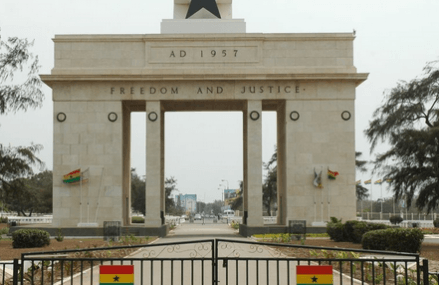 Can you find Made in Ghana goods on the market?