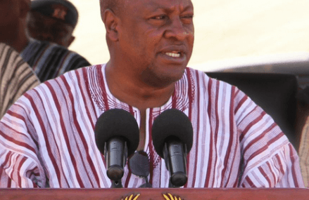 President Mahama pledges to invest more in roads