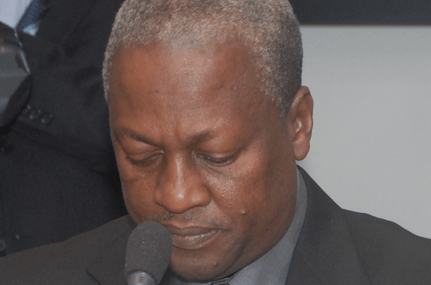 Mahama reiterates intention to fix power crisis