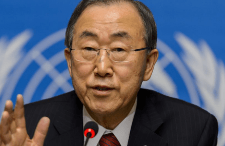 Ban Ki-moon's message to UN General Assembly