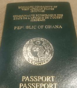 Ghana extends validity period of passport