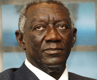 Former President Kufuor in Singapore for naming of FPSO