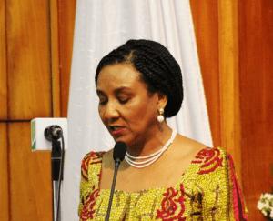 Mrs Mona Helen Quartey - Deputy Finance Minister