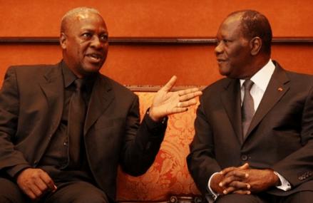 Kofi Annan mediates talks between Mahama, Ouattara over maritime border dispute – Report