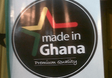 Made-In-Ghana logo winners receive cheques