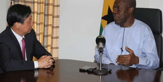 China urges Ghana to take advantage of $500b financing for international development