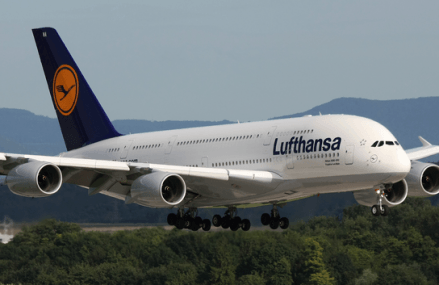 Lufthansa sets new fuel efficiency record