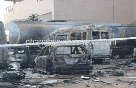 Oil marketing companies condemn closing down of fuel stations following Accra floods, fire