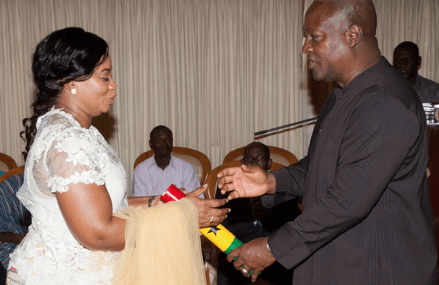 President Mahama swears-in new EC Boss