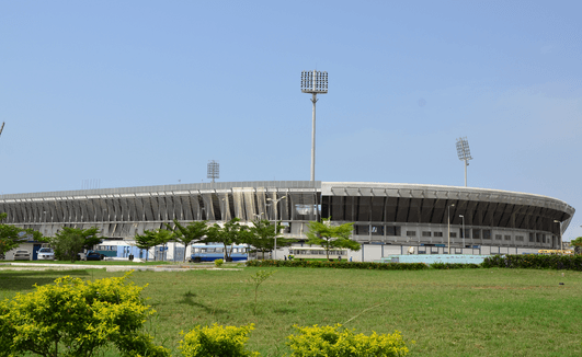 Accra sports stadium pitch ready for AWCON