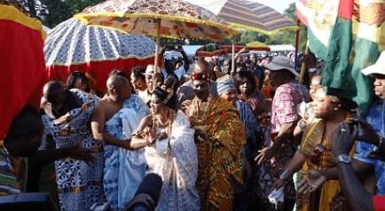 Pomp and pageantry welcome GhanaFest 2015