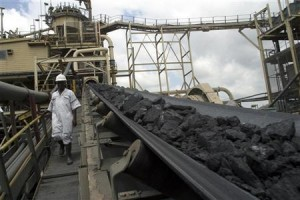 The Obuasi mine, (photo by Reuters)