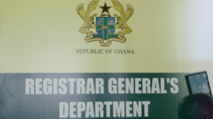 Registrar-General: Make transactional payments in Bank Draft