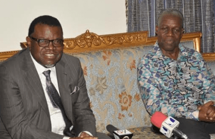 Namibian President calls for increased cooperation with Ghana