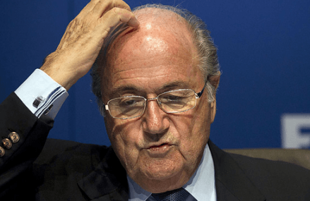 FIFA provisionally suspends Sepp Blatter