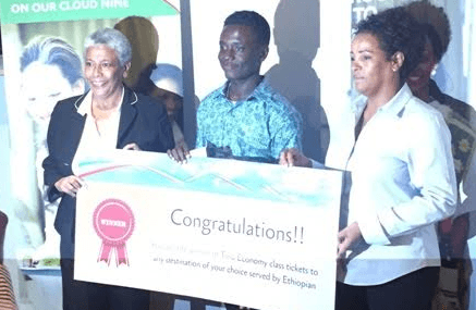 Ghanaian wins Ethiopian Airlines global logo competition