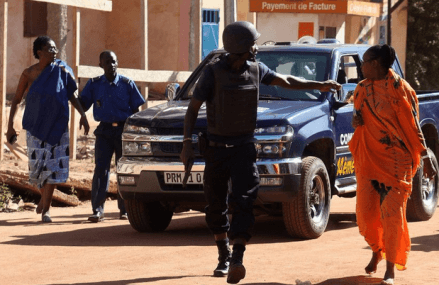Gunmen attack, take hostages in Mali hotel