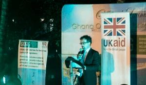 Jon Benjamin - British High Commissioner to Ghana at the launch.