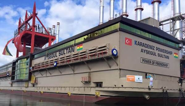 President Mahama to officially commission power barge ...