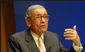 The Late Boutros Boutros Ghali