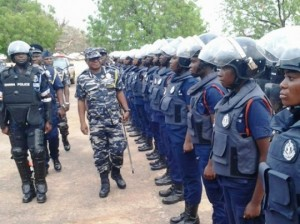 Police rounds-up over 100 suspects at Buduburam