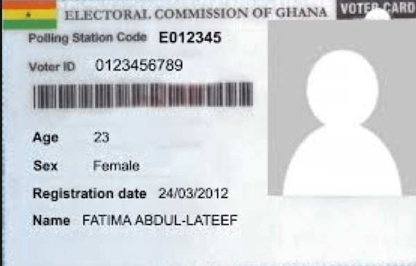 Replacement Of Voters Id Card Attracts Gh 5 Ec Ghana Business