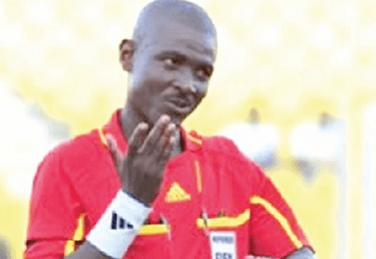 FIFA bans referee Lamptey for life
