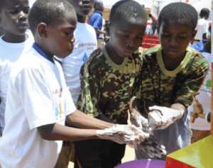 2.5 million school children at risk of WASH related diseases