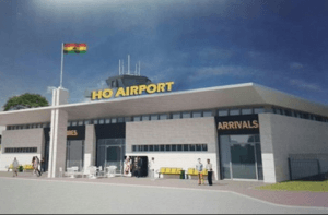 An artist impression of the Ho Airport